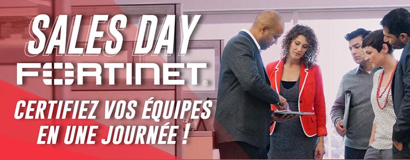 Sales Day FORTINET - Certifiez vos équipes en une journée !